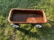 Vintage Used Radio Flyer All American Classic Red Wagon