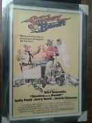 Smokey And The Bandit Burt Reynolds Hand Signed Movie Poster With C.o.a.
