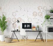3d Wood Flower Zhu5589 Wallpaper Wall Mural Removable Self-adhesive Zoe
