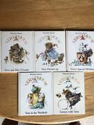 Vtg Vera The Mouse By Marjolein Bastin - Lot Of 5 Hc Books- Rare 3 1st Editions