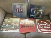 5 Vintage Record Albums Christan Music Hymns Dick Anthony Happy Goodman