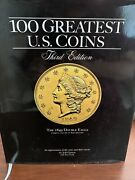 100 Greatest Us Coins A Coffee Table Coinage Book By Whitman 3rd Ed-h/c D/j Vg+