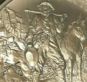 2016 1 Oz Prospector .999 Silver Bullion With Crossed Colt .45and039s Privy Panner