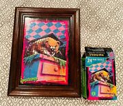 Goosebumps Vintage Framed 24 Pc 5x7 Cuddles The Hamster Mini Jigsaw Puzzle Mb