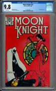 Moon Knight 24 Cgc Graded 9.8 Nm/mt White Pages Marvel Comics 1982