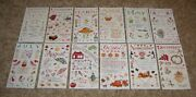Colorbok Sticker Sheet Lot Of Twelve Susan Branch....months Of The Year