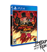 Limited Run 411 Super Meat Boy Forever Ps4 Preorder/presale