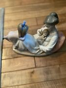 Lladro 1606 Mother Baby And Child Latest Addition Retired 2007