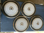 1976 1977 1978 Original Cadillac Hubcaps Set 4 White - Restored And Polished