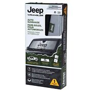 Jeep Wrangler Auto Sunshade Premium Quality Official Licensed Product 1996-2020