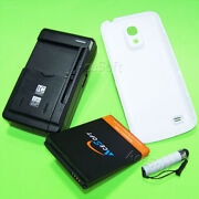 For Net10 Samsung Galaxy S4 Mini I9190l Extended Battery Back Cover Wall Charger
