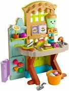 Fisher-price Laugh And Learn Grow-the-fun Garden To Kitchen Interactive Farm-to...