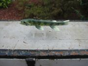 Ice Fishing Spearing Decoy Signed W. P. Wells