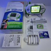 Leapfrog Leapster Explorer Bundle Educational Learning Game System With Charger.