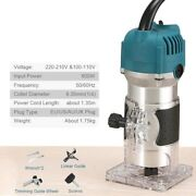 Woodworking Electric Trimmer Wood Milling Engraving Slotting Trimming Machine