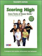Scoring High Iowa Tests Of Basic Skills - Book 7 Now By Sra/mcgraw Hill Vg+