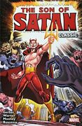 Son Of Satan Classic By Gary Friedrich And Steve Gerber Brand New