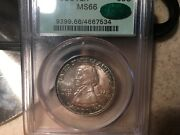 Pcgs 1925 Vancouver Ms-66 Ogh Cac