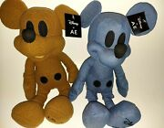 2 Disney Mickey Mouse X Ae American Eagle Collab Special Edition Plush Dolls