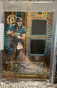 Trevor Lawrence 2021 Panini Gold Standard Dual Patch Rookie Patch Auto Rpa 75/75