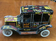 1950s Marx Old Jalopy Tin Lithograph Wind Up Car 7 By 4 By 3-3/4 Excellent