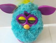 Free Shipping Furby Electronic Collectible Toy Untested Purple Blue Green 2012