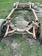 1969 1970 Chevrolet Impala Caprice Nice Solid Frame W/suspension Rear End Belair