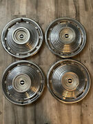 Oem Hubcaps Wheelcovers Chevy Nova 1965 14andrdquo 1964 1963 1962 Impala Corvair 1966