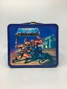 1983 Masters Of The Universe Metal Lunchbox With Thermos By Aladdin Industries