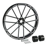 26and039and039x3.5and039and039 Wheel Rim Dual Disc Wheel Hub Fit For Harley Electra Glide 08-21 Us