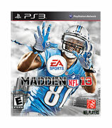Madden Nfl 13 -ps3, Dvd Game