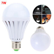 5pack Emergency Bulbs Rechargeable 7w Led Light With Battery Backup Led Ebulb
