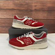New Balance 997h And039red Rain Cloudand039 Menand039s Vintage Athletic Sneakers Cm997hds Us8