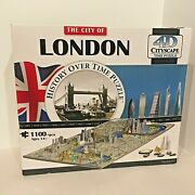 The City Of London - History Over Time Puzzle - 1100 Pieces 4d - New In Box
