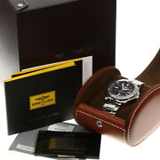 Breitling Automatic Men Ring Avenger Ii Gmt Date A32390 Watch Tk4241