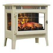 Duraflame 3d Infrared Electric Fireplace Stove With Remote Control - Portable In