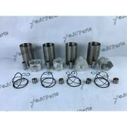 Free Shipping 14b Cylinder Liner Kit For Toyota Diesel Engine