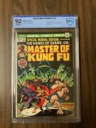 Special Marvel Edition 15 Cbcs 9.0 Ow 1st Shang Chi Not Cgc New Mcu Movie Hot