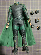 Hot Toys Ht Mms472 1/6 Loki Action Figure Body 3.0 Outfits Hands Thor Ragnarok