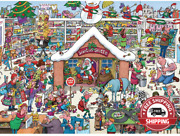 Jigsaw Puzzles 1000 Pieces For Adults Halloween Christmas Wooden Jigsaw Puzzles-