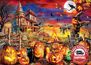 Puzzles For Adults 1000 Piece Wooden Halloween Jigsaw Puzzles 1000 Pieces For A
