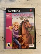Barbie Horse Adventures Wild Horse Rescue Sony Playstation 2 2003 Complete