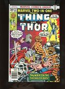1976 Marvel, Marvel Two-in-one  22, Thor And Thing, Nm, Bx81