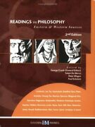 Readings In Philosophy Eastern And Western Sources By George Cronk Brand New