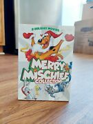Merry Mischief Collection Dvd 2013 3-disc Set Christmas Scooby Bugs Bunny Tom