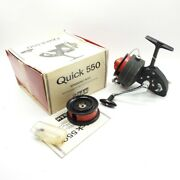 Dam Quick 550 Fishing Reel. W/ Box. Made In West Germany.