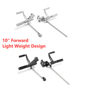 10 Forward Controls Levers Pegs Linkage Kit For Harley Iron Xl883n Forty Eight
