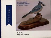 Blue Ribbon Pattern Series Song Bird Patterns By William Veasey