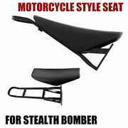 2021 Motorcycle Style Seat For Stealth Bomber Electric Bike Beach Cruiser
