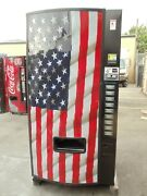 Dixie Narco 501e With American Flag Front